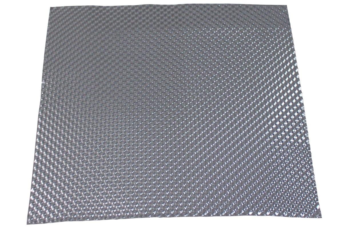 Osłona termiczna wytłaczana z aluminium Turboworks 0.5mm x 100 cm x 100 cm - GRUBYGARAGE - Sklep Tuningowy